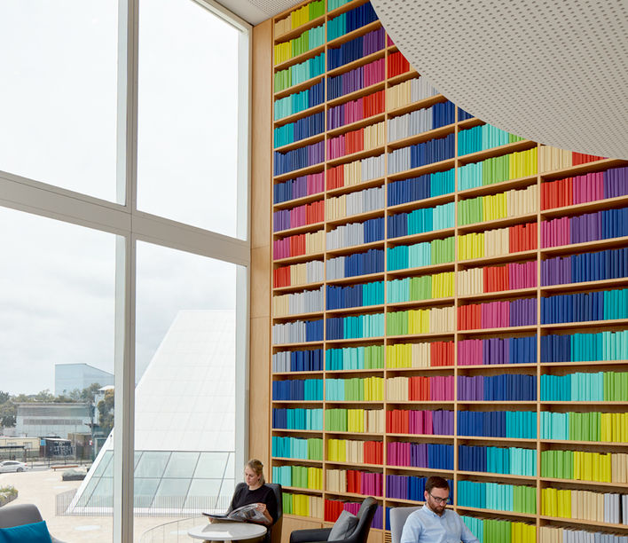 Green Square Library, Stewart Hollenstein. Photography: Tom Roe