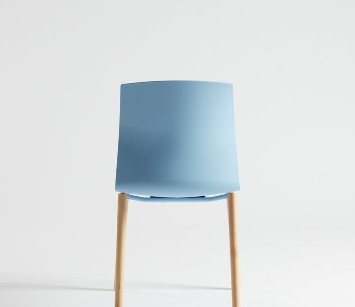 Akaba   Kabi 4 Leg Timber Chair   Exclusively available from Stylecraft