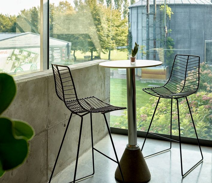 Arper   Leaf Barstool   Exclusively available from Stylecraft