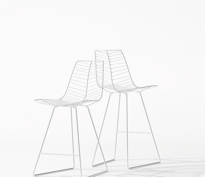 Arper | Leaf Barstool | Exclusively available from Stylecraft