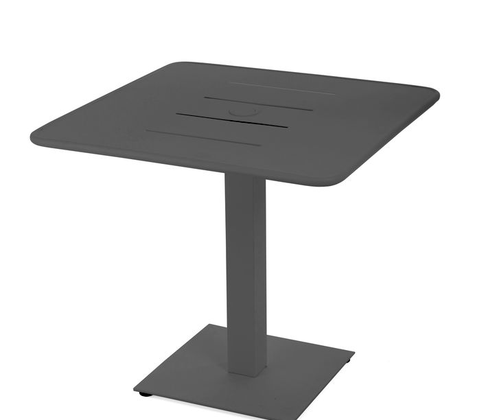 Maiori | Vega Pedestal Table | Exclusively available from Stylecraft