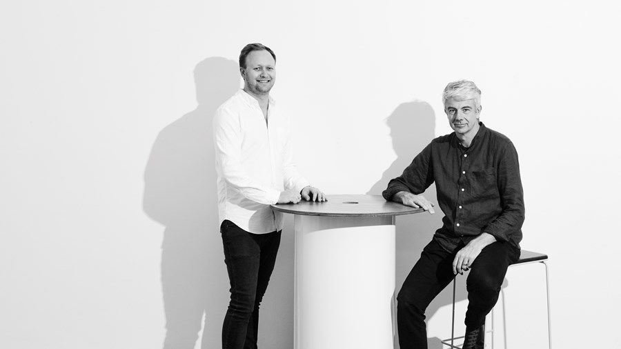 From L to R: Seaton Mckeon and James Laffan of Australian design duo, Neatt.