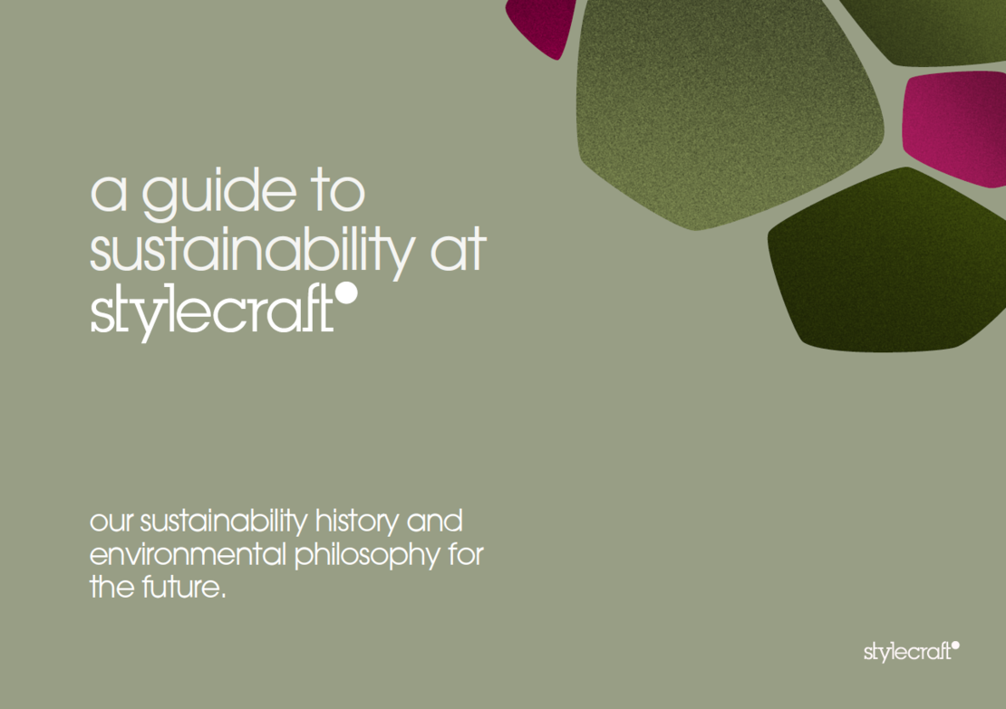 Guide to Sustainability at Stylecraft