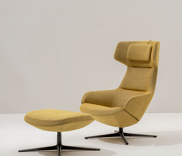 Arper | Aston Club Lounge Chair | Available exclusively from Stylecraft