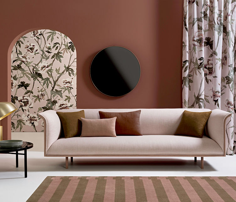 La Primavera Fabric Range designed by Mokum | Featuring Noon Range by Ross Gardam