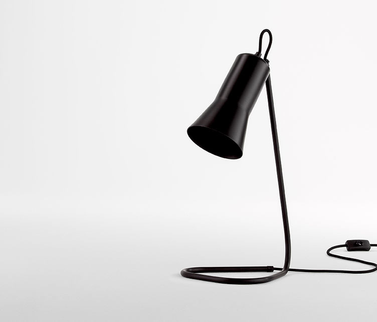 Ross Gardam   Silhouette Desk Lamp   Available from Stylecraft