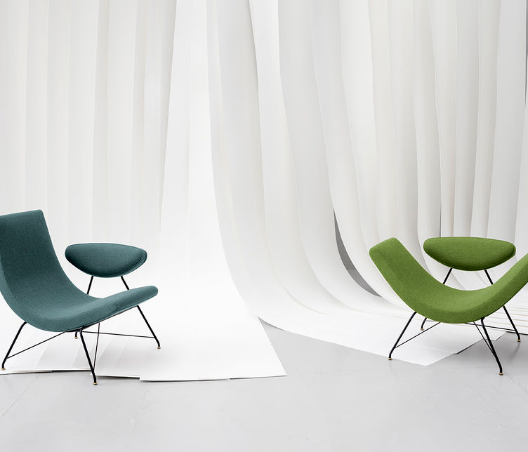 Tacchini | Reversivel chair | Designed by Martin Eisler